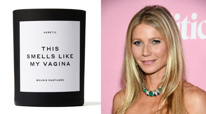 This Candle Apparently Smells Like Gwyneth Paltrow's Vagina