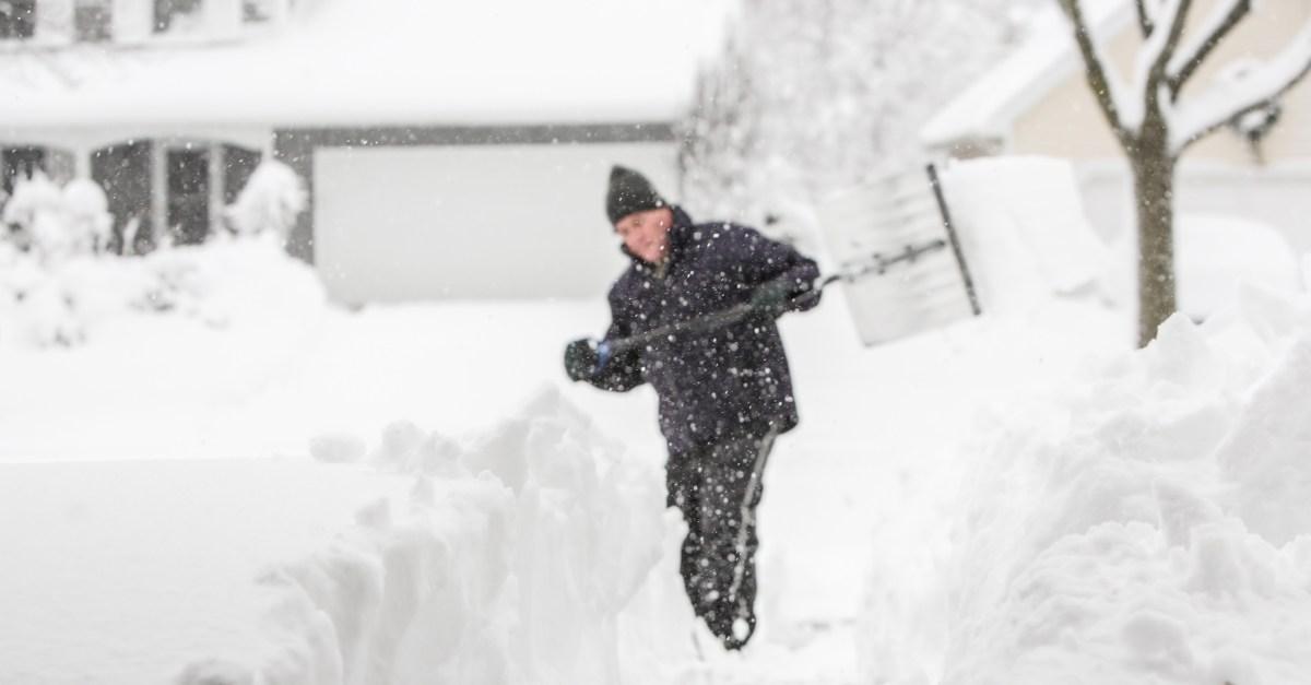 Snow Shoveling Argument