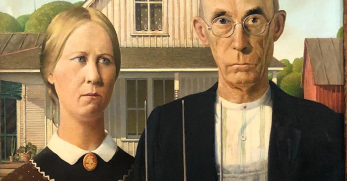 How the 'American Gothic' Painting Represents Survivors of the Great Depression