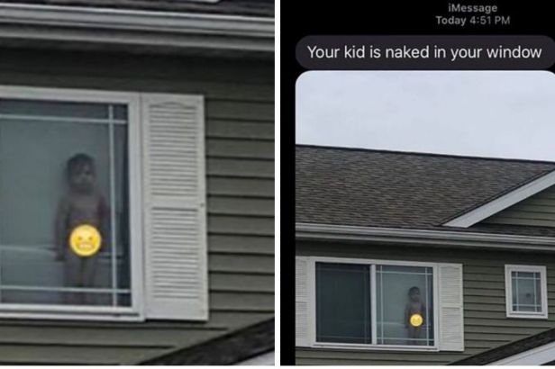 'Your Kid is Naked in Your Window': Mom Gets Hilarious Text From Neighbor