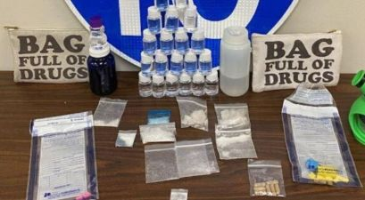 Florida Troopers Find Narcotics in Bag Labeled 'Bag Full of Drugs'
