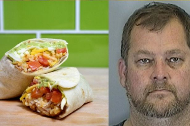 Husband Arrested For Smashing Taco Bell Burrito In Wife's Face During Messy Argument