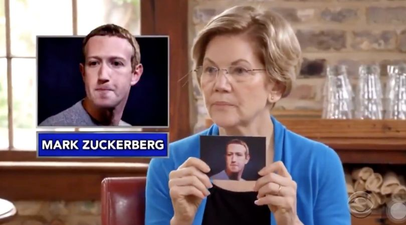 Elizabeth Warren Tried to 'Guess The Billionaire' With Stephen Colbert