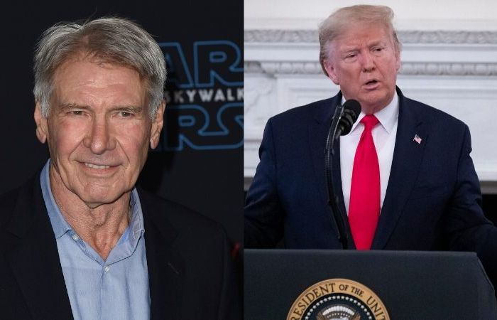 Harrison Ford Jokingly Calls Donald Trump a 'Son of a B***h' on 'Jimmy Kimmel Live!'