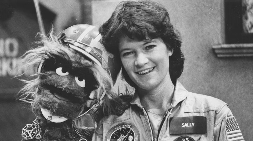 Sally Ride Made History by Becoming the First American Woman in Space