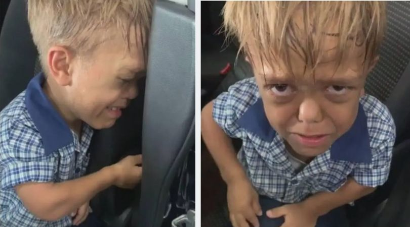 Mom Shares Emotional Video of Son Breaking Down After Being Bullied for Dwarfism
