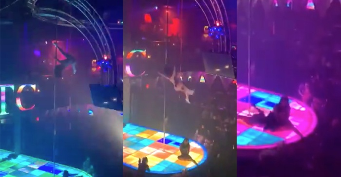 Stripper Breaks Jaw in Brutal Fall From Top of Giant Pole