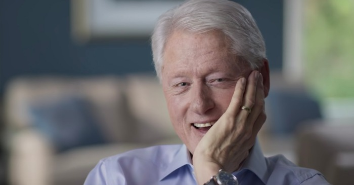 Bill Clinton Says He Had Affair with Monica Lewinsky to Relieve Stress