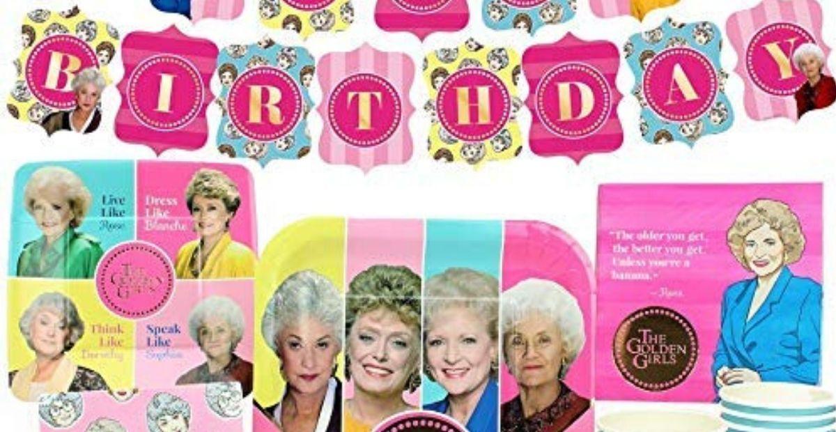golden girls birthday kit