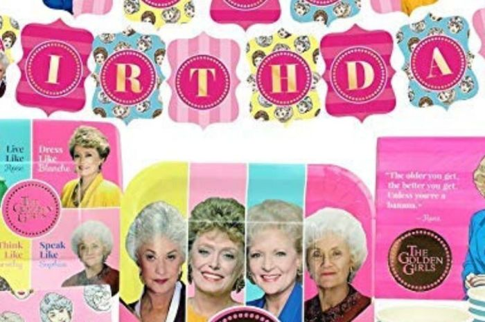 Party Like Blanche With This 'Golden Girls' Birthday Pack