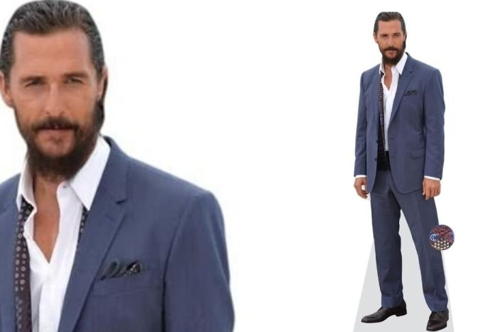 Every Texan Needs This Life-Size Matthew McConaughey Cutout
