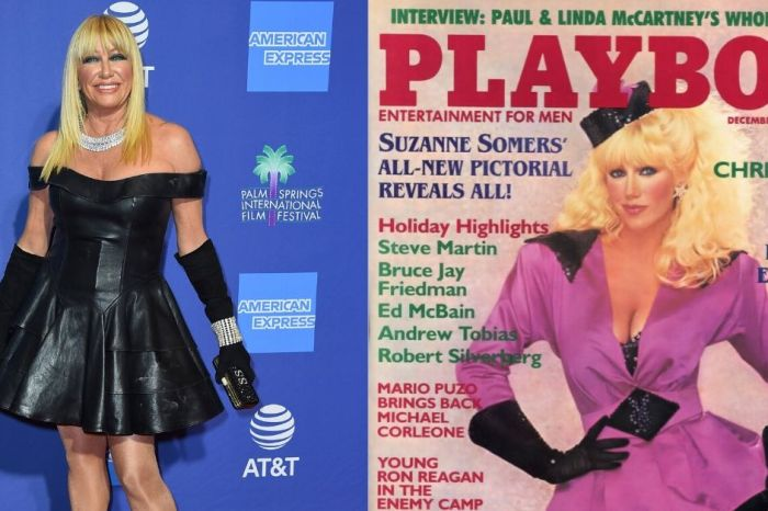 Suzanne Somers Wants to Pose for Playboy for Her 75th Birthday