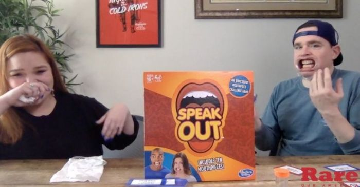 We Played 'Speak Out' and Made Total Fools of Ourselves (So it Went Great)