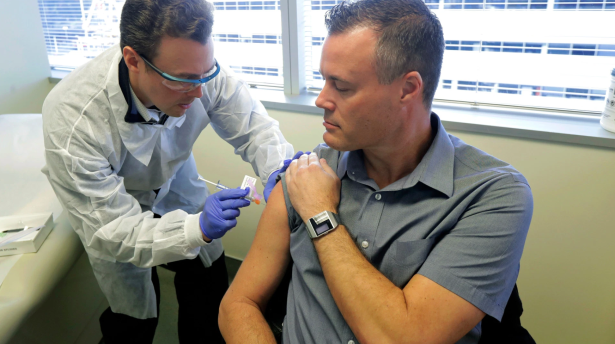 A Coronavirus Vaccine is Now Being Tested on Humans