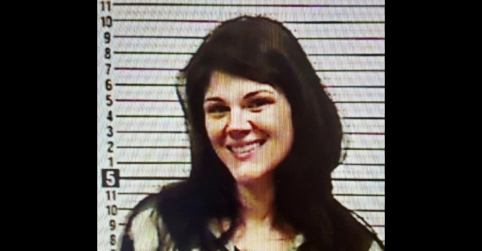 Woman Who Murdered Her Grandparents Gives Big Smile for Mugshot