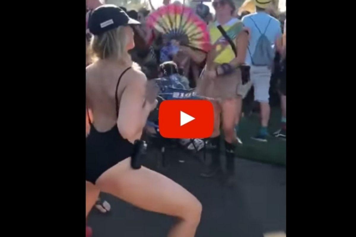 Wild Mom Sprays Breast Milk Over Crowd at Music Festival