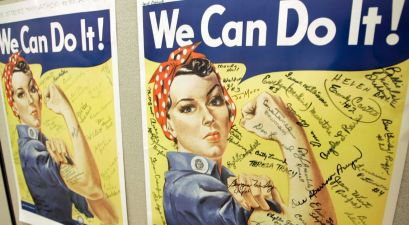Rosalind P. Walter: The Real Woman Behind 'Rosie The Riveter""