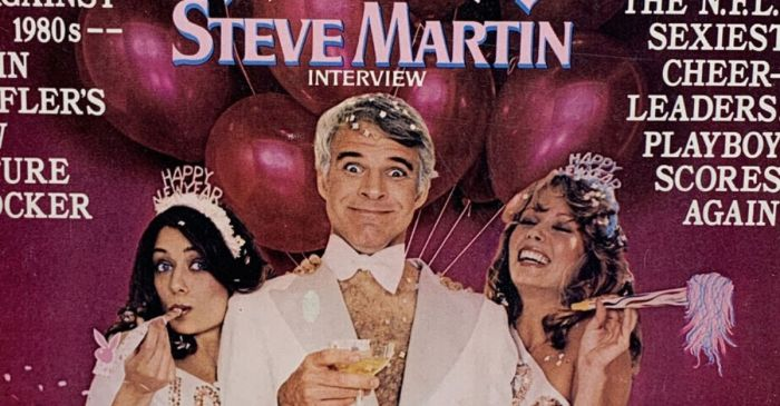 Remember When Steve Martin Posed For Playboy?