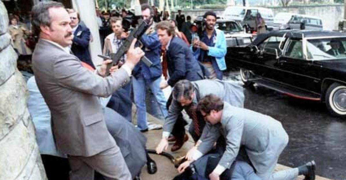 The Attempted Assassination of President Ronald Reagan in 1981