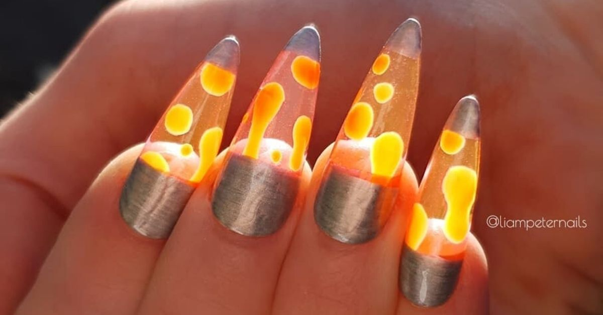 Lava Lamp Nails Are The Groovy New Trend