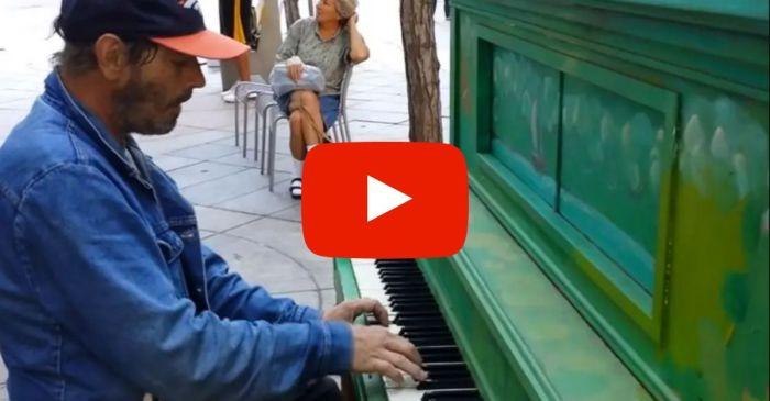 Homeless Man Shocks Crowd With Beautiful Version of Queen's 'Bohemian Rhapsody'