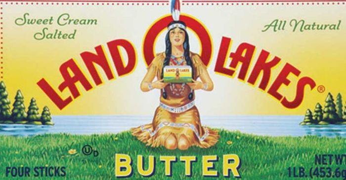 Land O'Lakes Removes Native American Woman from Packaging