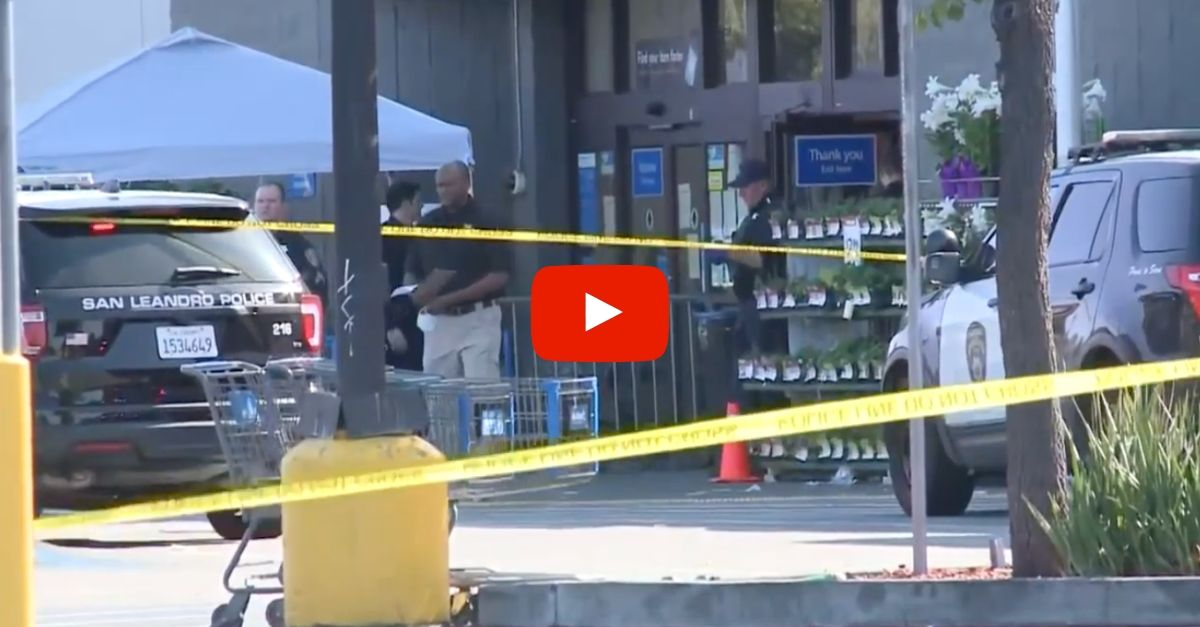Man Shot and Killed by Cops After Swinging Baseball Bat Inside Walmart