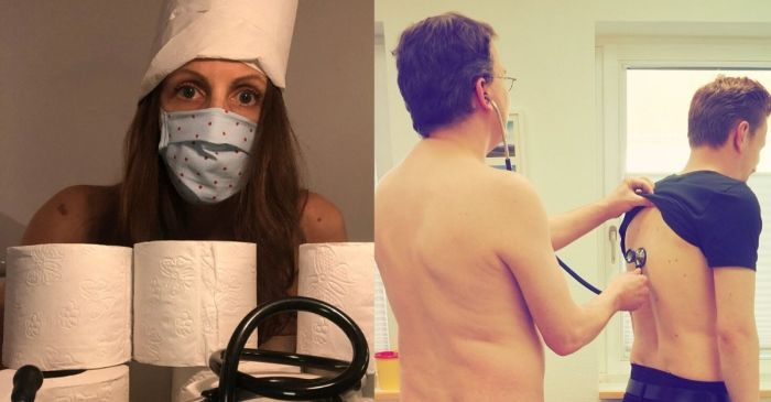 Healthcare Workers are Posing Naked to Protest Protective Equipment Shortages