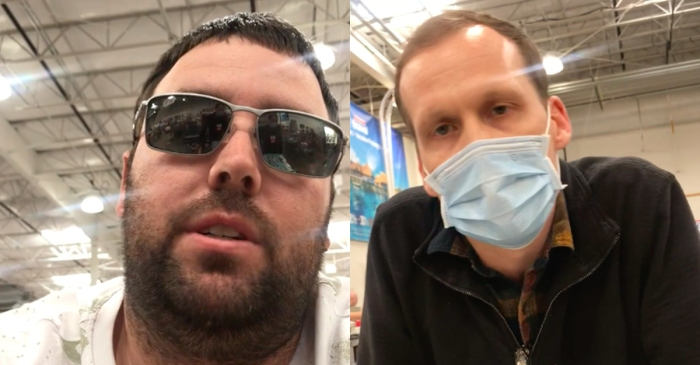 Man Kicked Out of Costco for Refusing to Wear Mask Tries to Get Revenge on Worker, Fails