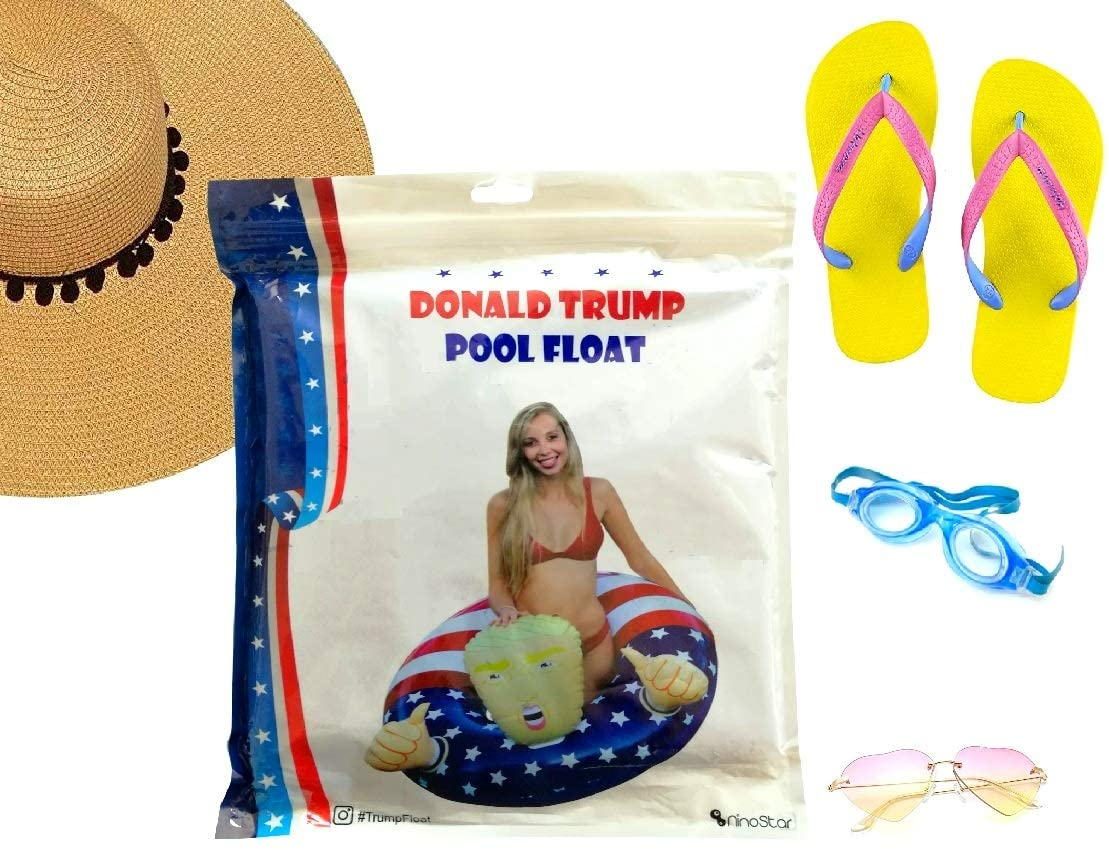 Pool Float Donald Trump Best Inflatable for The Summer, Fun Swimming Floats for Pool Party