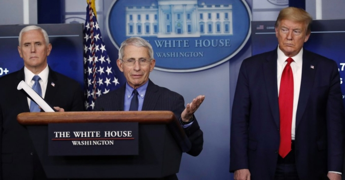 Dr. Fauci Warns of 'Suffering and Death' if US Reopens Too Soon