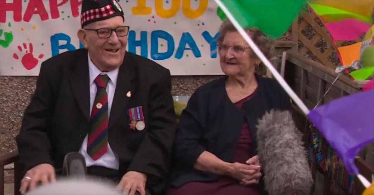 WWII Veteran and Former Prisoner of War Celebrates His 100th Birthday