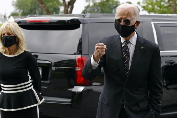 Biden Calls Trump 'Falsely Masculine' For Refusing to Wear Mask in Public