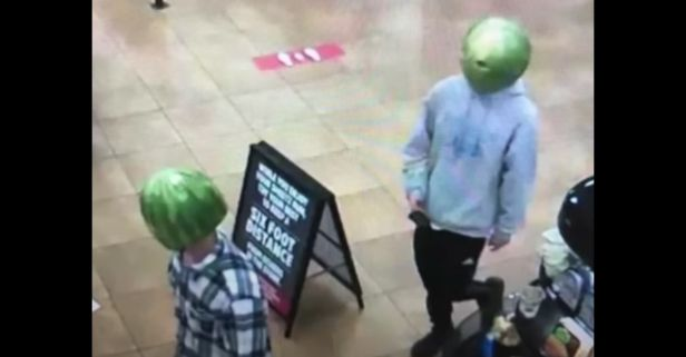 """Police Close Robbery Case by Arresting """"Melon-Heads."""" Literally."""