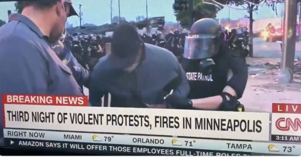 CNN Reporter Arrested on Live TV While Covering Minneapolis Riots