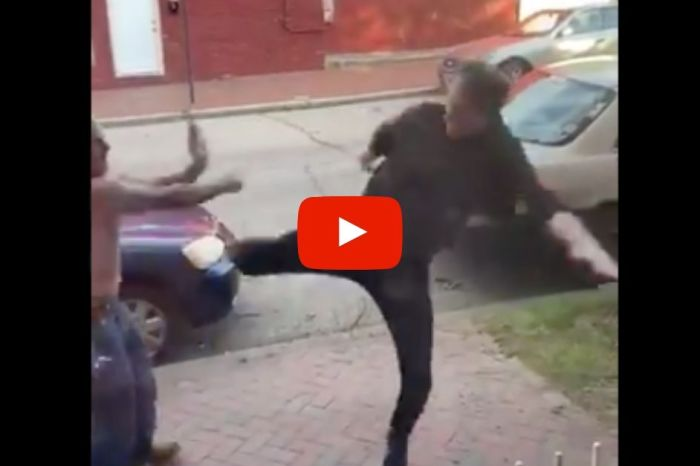 Jeff Goldblum Lookalike Gets Into Epic Viral Street Fight