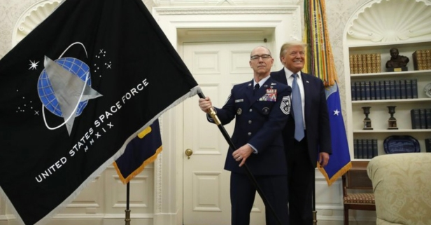 Space Force, the Newest U.S. Military Branch, Unveils its New Flag
