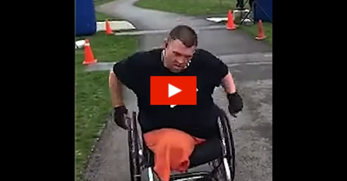 Marine Who Lost Legs to IED Competes in Half-Marathon Races