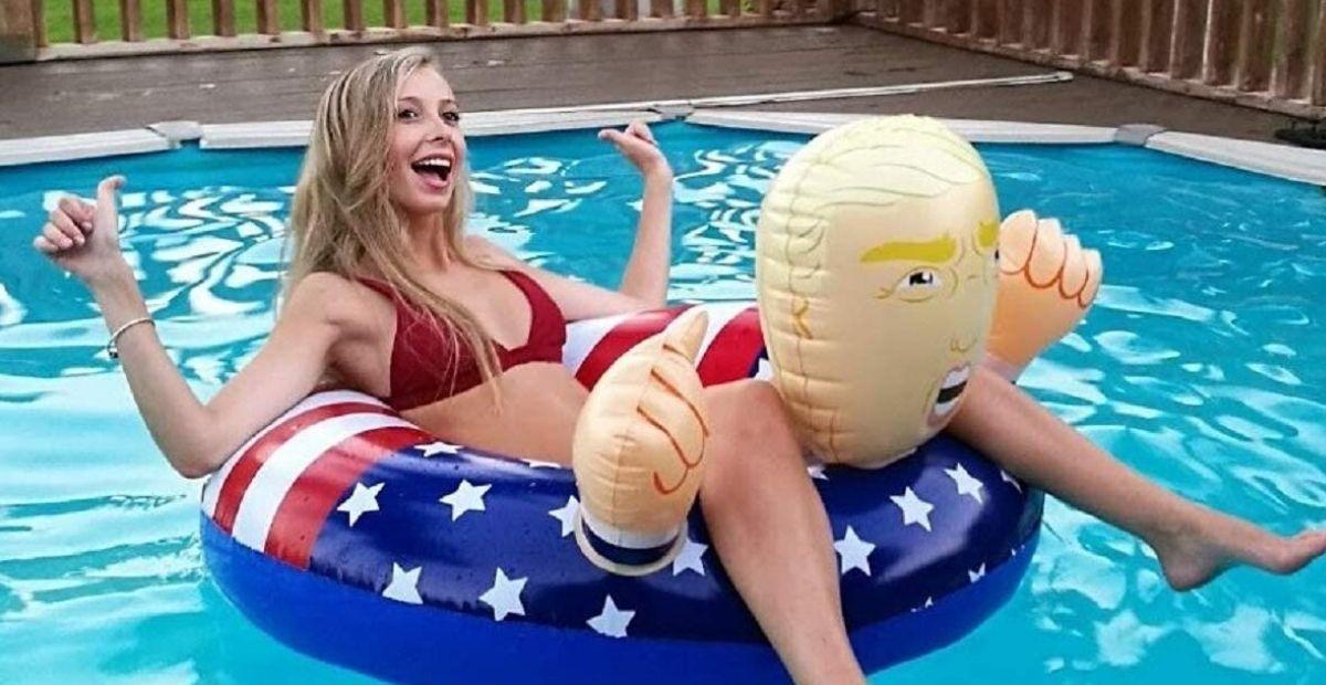 donald trump float FI