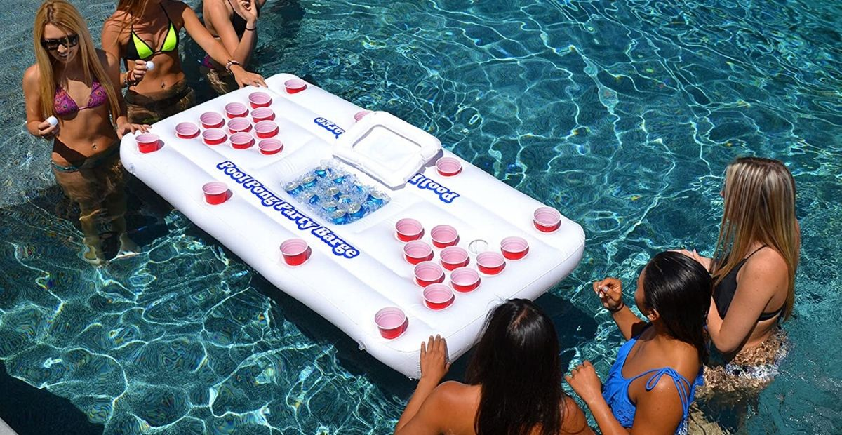 inflatable beer pong FI