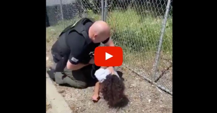 Police Officer Filmed Hitting 14-Year-Old, Pinning His Head to the Ground