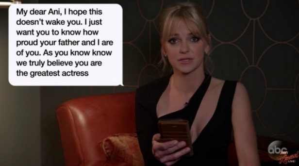 Jimmy Kimmel Makes Celebrities Read Hilarious Mom Texts
