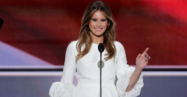 Melania Trump Slams Food Network Host for 'Insensitive' Joke About Son Barron