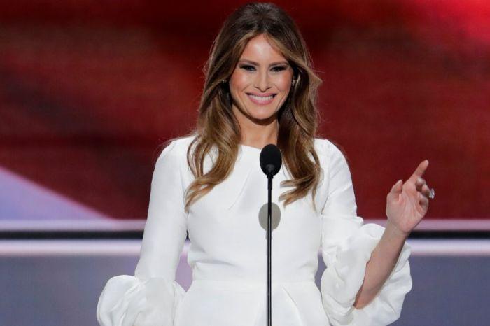 Melania Trump Slams Food Network Host for 'Insensitive' Joke About Son Barron