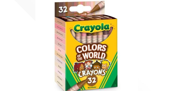 Crayola Creates 'Colors of the World' Crayons to Match Skin Tones