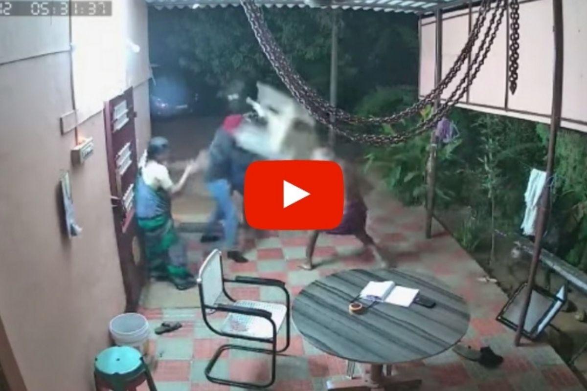 Elderly Couple Fight Off Machete-Wielding Robbers