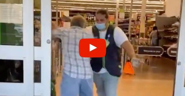 Man Fights His Way Into Walmart Without Mask, Gets Kicked Out