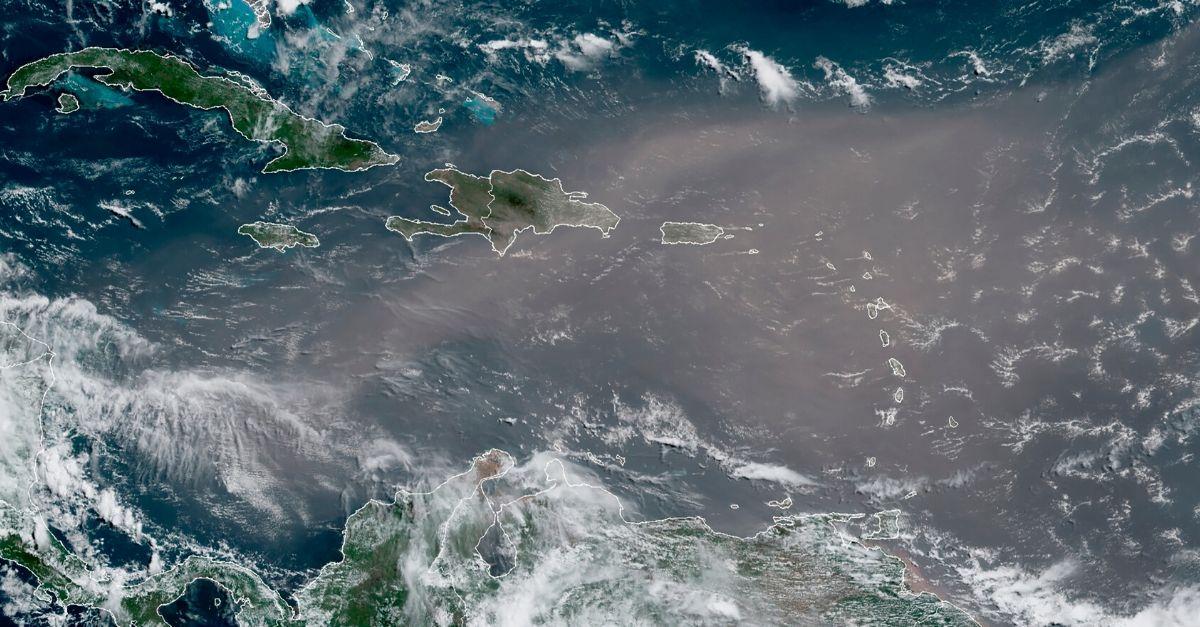 Hazardous 'Godzilla Dust Cloud' From Sahara Desert Heading to the US
