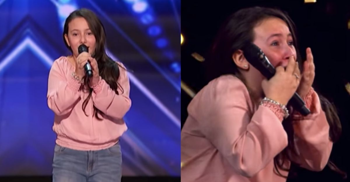 "10-Year-Old Gets 'America's Got Talent' Golden Buzzer With Stunning ""Shallow"" Cover"