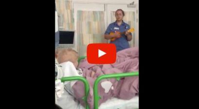 Heartwarming Viral Video Shows Nurse Singing to Boy Battling Cancer
